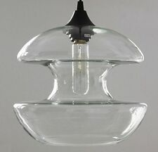 New Modern Glass Diabolo Pendant Lamp Ceiling Light Chandelier Fixture Lighting