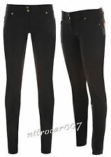 Girls black School Trousers Sexy Miss Sexies Super Skinny Size 6-16