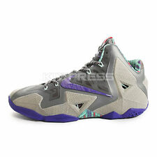 Nike Lebron XI XDR [626374-005] Basketball Terracotta Warrior Grey/Purple
