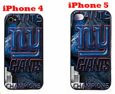NY Giants iPhone 4 4s iPhone 5 5s Case Hard Silicone Case New York Giants 1