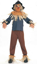 Children Scarecrow Wizard of Oz Party Book Theme Costume Fancy Dress