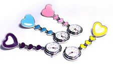 Heart Nurses Brooch Fob Watch