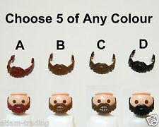 Playmobil Beard - Pick and Choose Qty 5 - Parts