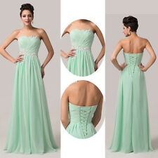 Ruched Elegant Womens Prom Cocktail Bridesmaid Graduation Birthday Party Dresses