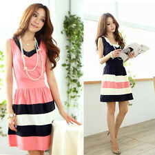 Summer Fashion Chiffon Casual Short Mini Evening Cocktail Party Dress Excellent