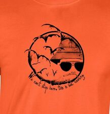 Hunter S Thompson BAT COUNTRY Gildan T-shirt fear loathing can't stop here gonzo