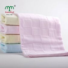 "1PC Cotton Hand Towels Muslin Baby Towels Bibs Burp Face Washcloths 14""*30"" New"