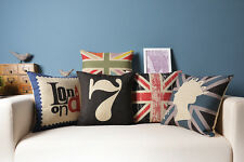 Union Jack British style 1 ST 7 London cushion cover Pillow Cover pillow cover