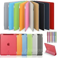 New Smart  Magnetic PU Leather Stand Hard Back Case cover for Apple iPad 2 3 4