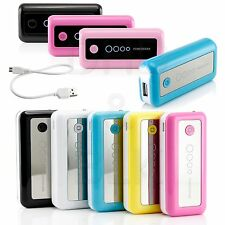 Portable 5600mAh External Battery USB Charger Power Bank for Mobile Phone 5 Cs