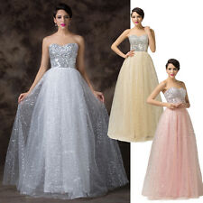 CHEAP Sexy Swing Wedding Formal Party Ball Long Evening Prom Bridesmaid Dresses