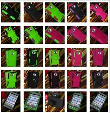 For Samsung Galaxy S II / S2 Straight Talk S959G Hybrid Hard Cover Rubber Case