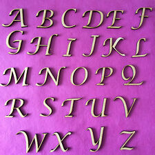 WOODEN LETTERS & NUMBERS IN LUCIDA CALLIGRAPHY FONT SIZES 2-3-4-5-6-8 AND 10cm