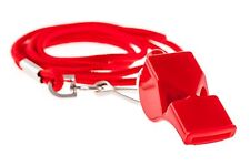 Lifeguard Whistle w/Lanyard
