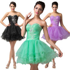 ~ON SALE~Formal Homecoming Prom Bridesmaid Short Cocktail Party Evening Dresses