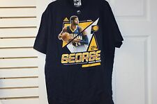 "Adidas ""B"" Grade Indiana Pacers Paul George #24 Navy/Yellow/Paul George Size XL"