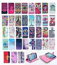 Fashion Vintage Stand Flip Wallet Leather Hybrid Case Cover For Samsung Galaxy