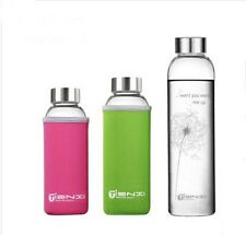 New Shatterproof Glass Water Bottle Eco Friendly Glass Cup Free Shipping