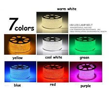 220v high power 3528 smd led strip Home Party xmas lamp Flexible LED Rope Lights