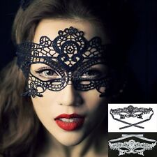 Hot Eye Mask Lace Flower Masquerade Ball Carnival Fancy Dress Costume Party CaF8