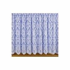 Kent White Net Curtain in Victorian Lace Effect ***FREE P&P*** Sold by metre