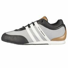 Y3 Boxing Ripstop Trainers Grey/Black