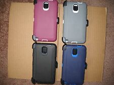 For Samsung Galaxy Note 3 Hybrid Defender Case With Screen Protector