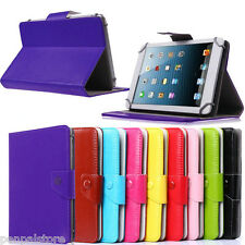 "7"" Alcatel ONE TOUCH EVO7/7HD/Tab 7/Pop7S Tablet leather case cover stand Folio"