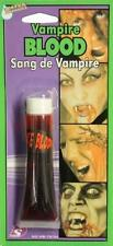 Fake Vampire Blood Make Up Theatrical Zombie Wounds Halloween Bullet Drip