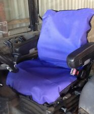 Heavy Duty Purple Tractor/JCB Seat Cover Waterproof - Other colours available