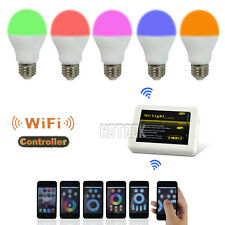 Mi-Light 2.4G E27 6W RGBW Wireless WIFI Controller Dimmable Smart Bulb Light