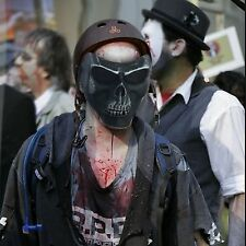 Adult Tactical Military Skull Skeleton Face Mask Hunting Costume Party Training