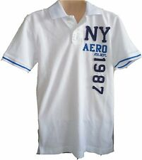 Mens AEROPOSTALE Aero NY87 Patch Piqué Polo Shirt NWT #2436