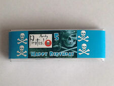 6 PERSONALISED CHOCOLATE WRAPPERS ONLY FOR PARTY BAG FILLERS CHOOSE DESIGN