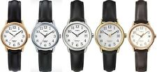 Timex Classic Ladies Watch - Easy Reader - Indiglo - Leather Strap