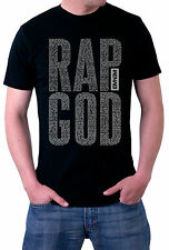 Eminem Rap God Lyrics Uncensored Logo Mens Womens T-Shirt S M L XL XXL