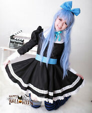 New christmas Sexy LOLITA  Panty & Stocking French maid Cosplay  Costume Dress