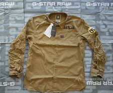 ✰ NEU - G-STAR RAW Herren Langarm Hemd Größe: L XL AERO TAKE OFF SHIRT