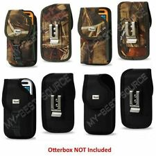 Pouch/Holster Cover Metal Belt Clip FOR Otterbox Defender Case ON Camo OR Black