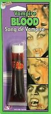 MAKE UP VAMPIRE FAKE BLOOD NEW FANCY DRESS THEATRICAL ZOMBIE WOUNDS HALLOWEN