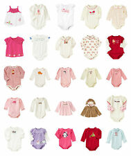 NWT Gymboree Newborn Baby Girl BODYSUITS TOPS Options
