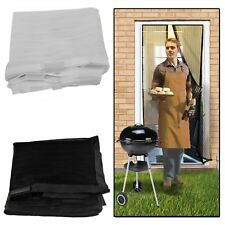 AMOS Mesh Door Magic Curtain Net Magnetic Snap Bug Insect Fly Mosquito Screen