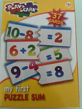 Play and Learn My First 3D Spelling Memory Game Puzzle Sum Bundle Deals