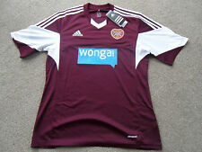 Hearts Football Shirt Home Adidas 2013/14 BNWT RRP £41.99 Scotland