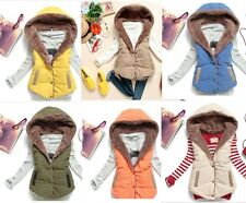 NEW autumn winter warm vest with a hood - FREE SHIPPING