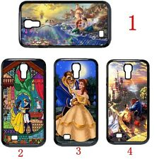 Disney Beauty And The Beast Little Mermaid Case Cover For Samsung Galaxy S4