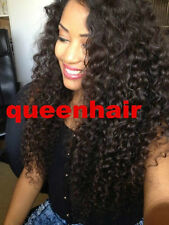 100%   Malaysian  Lace Front  wigs  Human  Hair  Remy curly  4 color