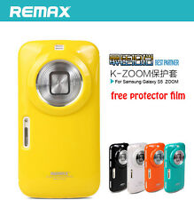 Soft Back skin cover for samsung galaxy K S5 zoom  c1158 c1116 free Screen  film