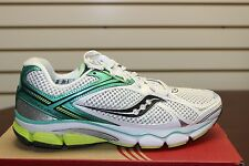 Saucony Women's Progrid Echelon 3 White/Green/Citron 10154-1 Brand New In Box