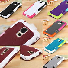 Hybrid Rubber Soft Silicone Gel TPU Case Cover For Samsung Galaxy S3 S4 S5 Note4